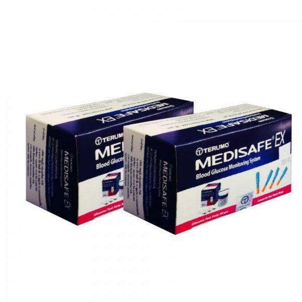 แผ่นตรวจน้ำตาล TERUMO รุ่น MEDISAFE EX