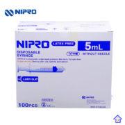 syringe 5 ml box
